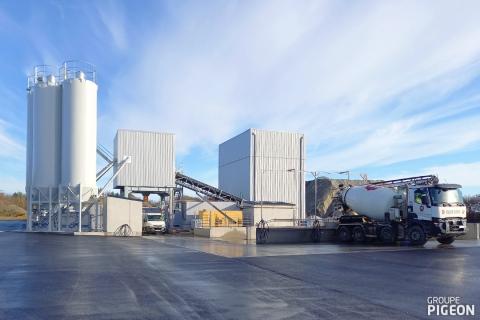 Le Groupe Pigeon poursuit son développement avec une nouvelle centrale à béton à Vieux-Vy (35), actualité du Groupe Pigeon