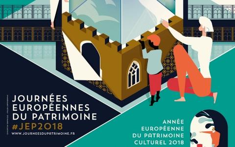 Un palais en béton ouvre ses portes pour les Journées Européennes du Patrimoine, actualité du Groupe Pigeon