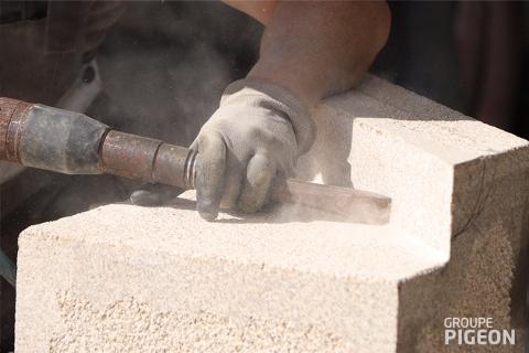Connaissez-vous le métier de tailleur de pierre ?, actualité du Groupe Pigeon